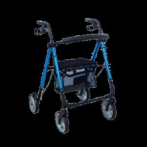 Podpórka rehabilitacyjna 4-kołowa - aluminiowa AR-006