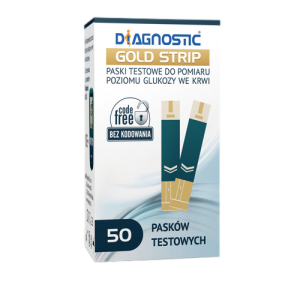 Diagnostic Gold Strip