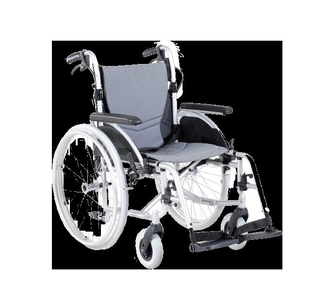 Wózek inwalidzki aluminiowy AR-330