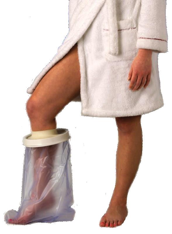 Wodoodporny ochraniacz na gips