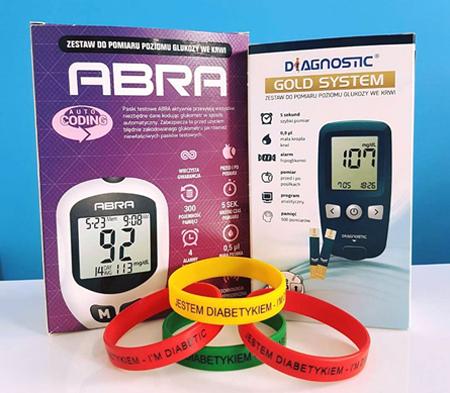 promocja na glukometry, Glukometr Abra, Glukometr Diagnostic