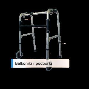 Balkoniki i podpórki